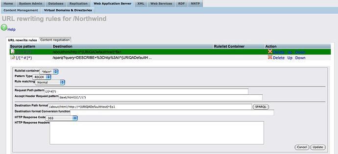 fig4: Northwind URL rewrite rule for HTML requests.jpg
