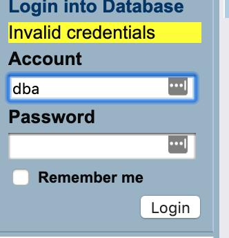 Virtuoso Enterprise - default password - OpenLink Software